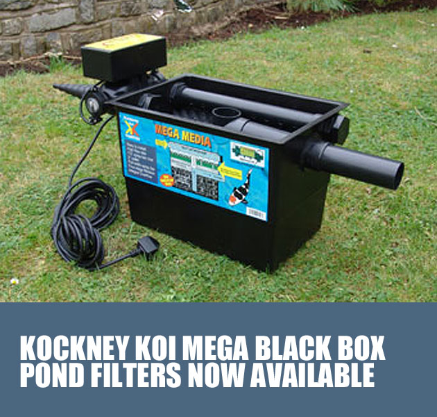 KOCKNEY KOI MEGA BLACK POND FILTERS